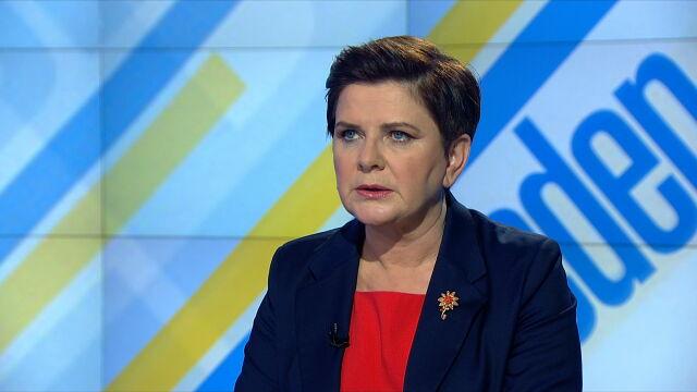 Beata Szydło: Polska jest bezpieczna