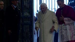 Benedykt XVI przerwał milczenie