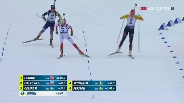 Świetny występ Hojnisz-Staręgi w biegu pościgowym w Ruhpolding