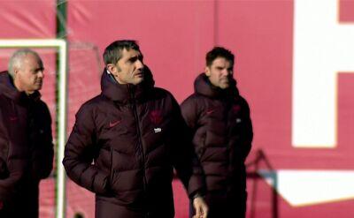Barcelona zwolniła trenera Ernesto Valverde