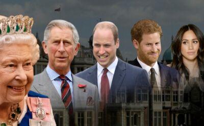Elżbieta II reaguje na decyzję o rezygnacji Harry'ego i Meghan