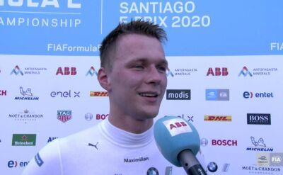 Guenther po triumfie w ePrix Santiago