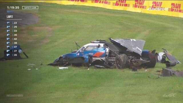 Potężny wypadek w wyścigu 6 Hours of Spa-Francorchamps