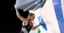 Tokio. Wspinaczka sportowa kobiet. Występ Mirosław w kwalifikacjach boulderingu