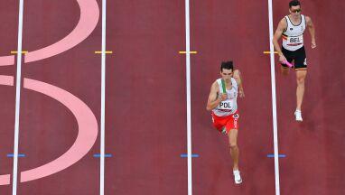 Znakomity bieg sztafety 4x400 m. Szturmem do finału