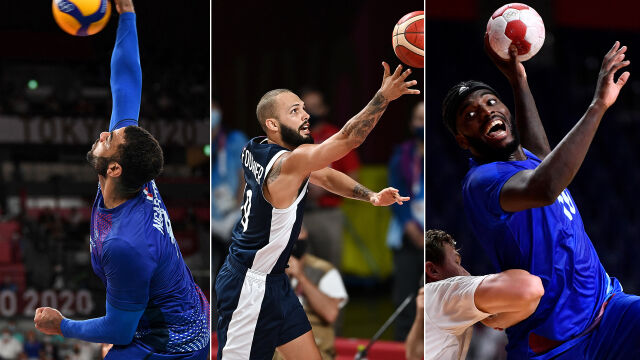 Niesamowite sukcesy Francuzów w grach zespołowych w Tokio