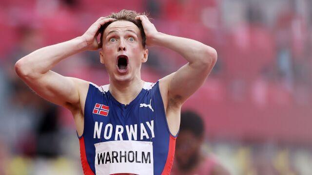Niewiarygodny bieg po rekord świata. Norweg sam nie wierzył