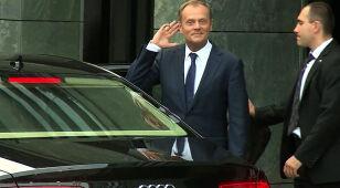 Tusk: Wręczyłem papiery. Prezydent rozpatrzy dymisję w czwartek o 14