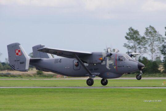 Okrętom towarzyszyły załogi samolotów patrolowo – rozpoznawczych Bryza