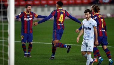 Messi przeszedł do historii i dogonił Pelego. Barcelona ponownie rozczarowała