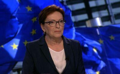 Kopacz: niech Kaczyński nie reformuje Unii Europejskiej
