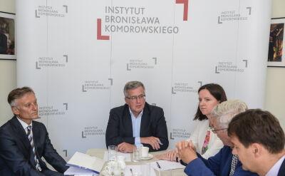 Zdaniem Komorowskiego trzeba zacieśniać integrację