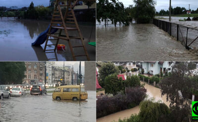 """""""Woda odcięła mieszkańców"""", """"wieś zalana"""". Reporterzy 24 pokazują krajobraz po burzy"""
