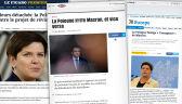 """Polska irytuje Macrona i vice versa"". Francuskie media o kryzysie francusko-polskim"