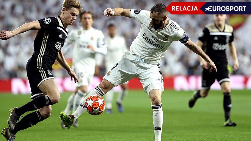 Real Madryt  - Ajax Amsterdam 1:4 (RELACJA)