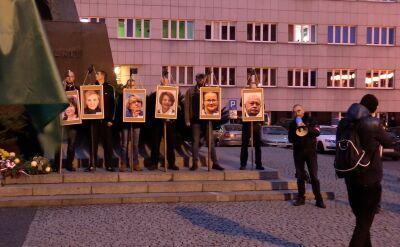 Przedłużono śledztwo w sprawie portretów polityków na szubienicach