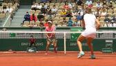 Świątek i Mattek-Sands przełamały rywalki w 2. secie meczu 3. rundy French Open