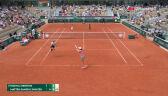 Najważniejsze momenty meczu Świątek/Mattek-Sands – Mertens/Hsieh w 3. rundzie French Open