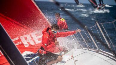 Awans polskiej załogi na przybrzeżnym etapie
