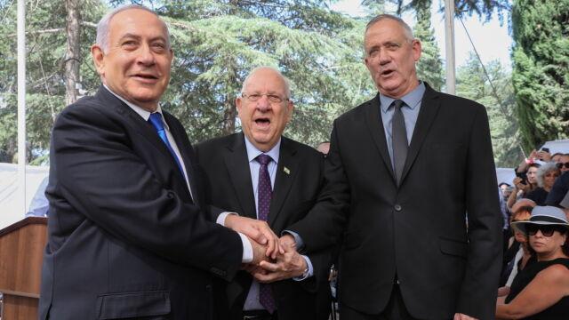 Netanjahu wyszedłz propozycją. Ganc postawiłwarunek