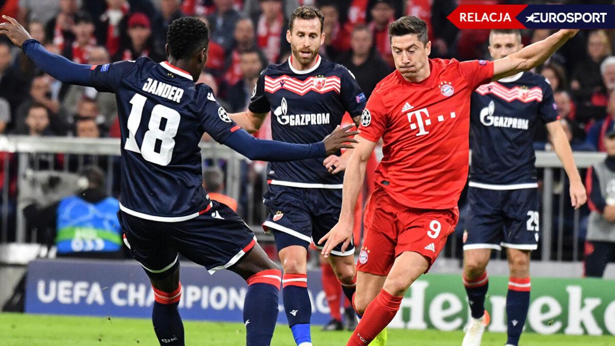 Bayern szuka kolejnego gola. Lewandowski miał swoją szansę