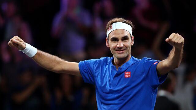Skrót meczu Federer - Isner w Pucharze Lavera