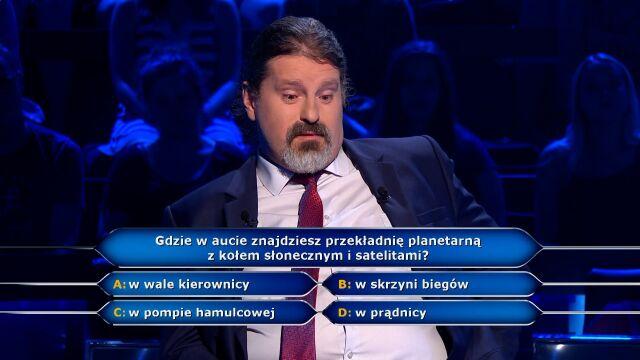 Pytanie za 5 tysięcy złotych  o przekładnię planetarną