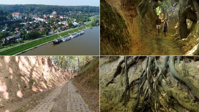 Chcą zabetonować lessowy wąwóz w Kazimierzu Dolnym