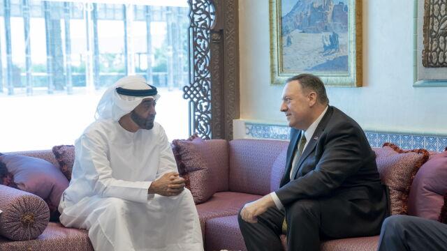 Pompeo w Emiratach: budujemy koalicję, by odstraszyć Iran