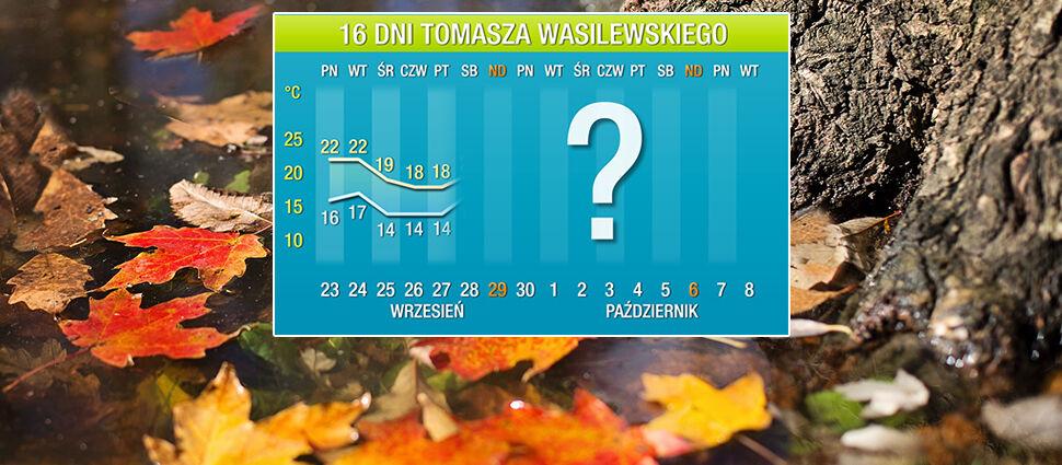 Wasilewskiego prognoza pogody na 16 dni:  październik zaprowadzi nowe porządki