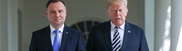 Jest propozycja w sprawie spotkania prezydentów Dudy i Trumpa