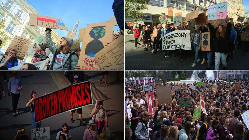 Młodzieżowy Strajk Klimatyczny i Protest Tysięcy Miast