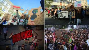 """Młodzieżowy Strajk Klimatyczny  i """"Protest Tysięcy Miast"""""""