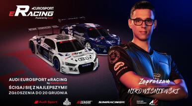 Zgłoś się do Audi Eurosport eRacing i pojedź na żywo w telewizji