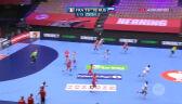Szalona końcówka pierwszej połowy w meczu Francja - Rosja w ME piłkarek ręcznych