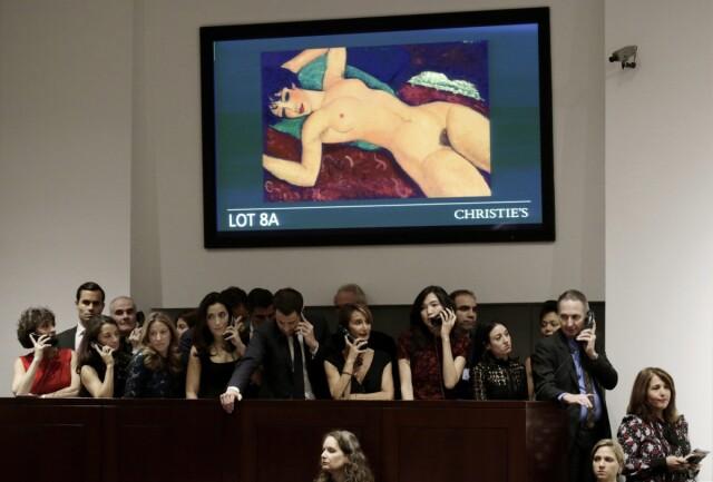 Modigliani Obraz Naga śpiąca Sprzedany Za 170 Mln Dolarów