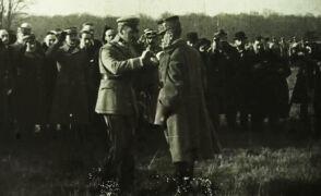 Archiwalny film z marszałkiem Józefem Piłsudskim