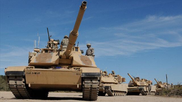 Amerykańskie czołgi w Polsce. Pancerne siły NATO w Żaganiu?