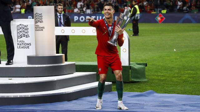 Ronaldo faworytem do Złotej Piłki. Portugalskie media w euforii po Lidze Narodów