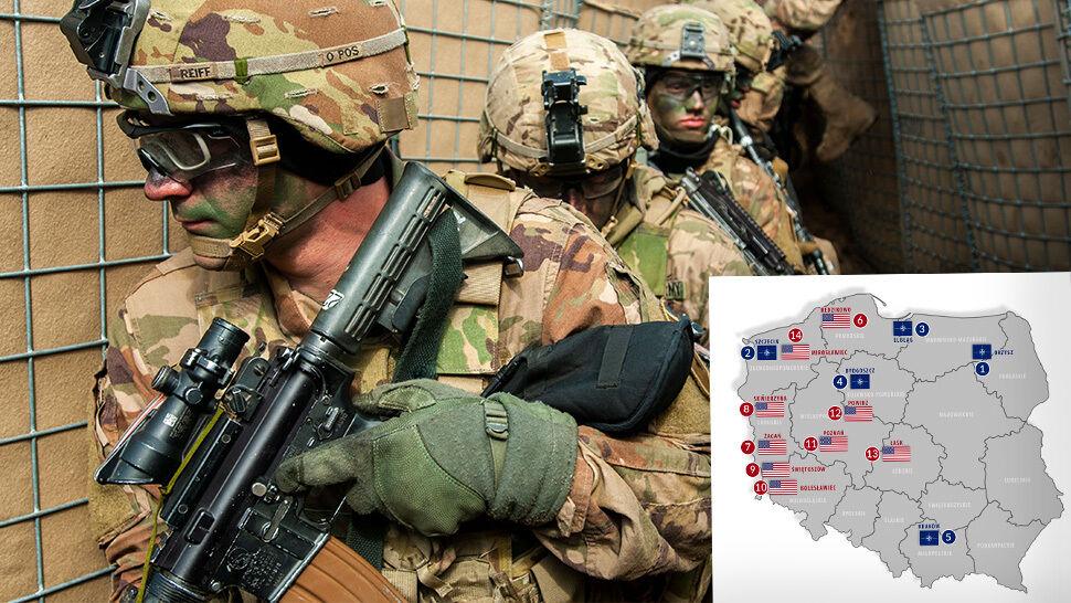 Obecność wojskowa NATO i USA w Polsce