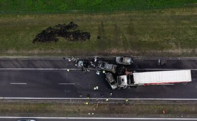 Tragiczny karambol na autostradzie A6. Wniosek o areszt dla kierowcy tira