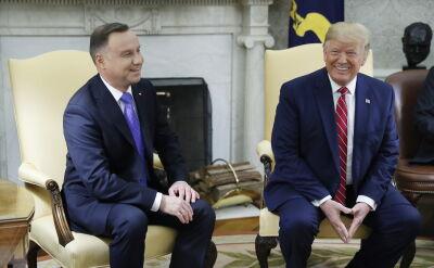 Donald Trump o wizycie i demokracji w Polsce. Duda: nie ma problemu z demokracją w Polsce