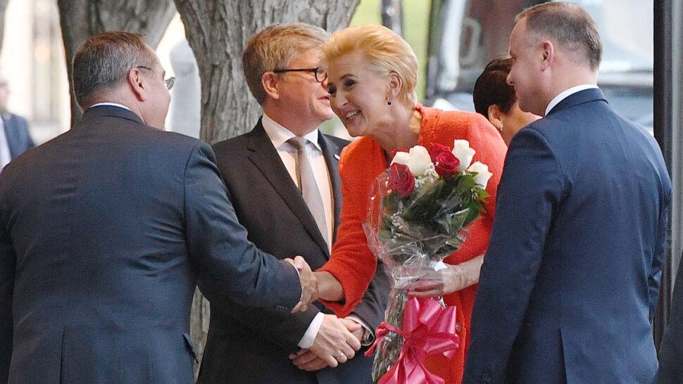 """Amerykańska niespodzianka dla polskiej pary prezydenckiej. """"Bardzo duży gest i duży wyjątek"""""""
