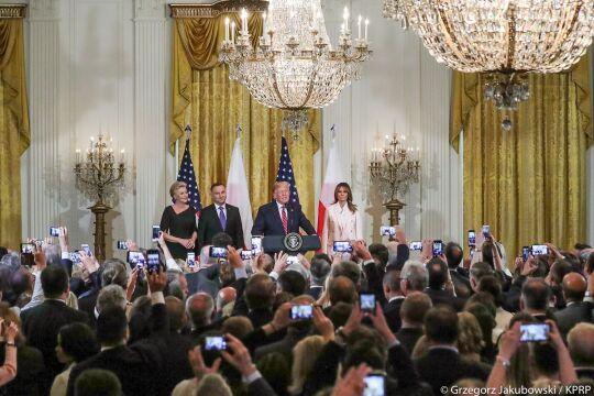 Przyjęcie w Białym Domu wydane przez gospodarzy z okazji wizyty polskiej Pary Prezydenckiej