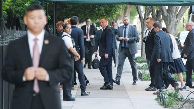 Prezydent Duda przybył do Waszyngtonu