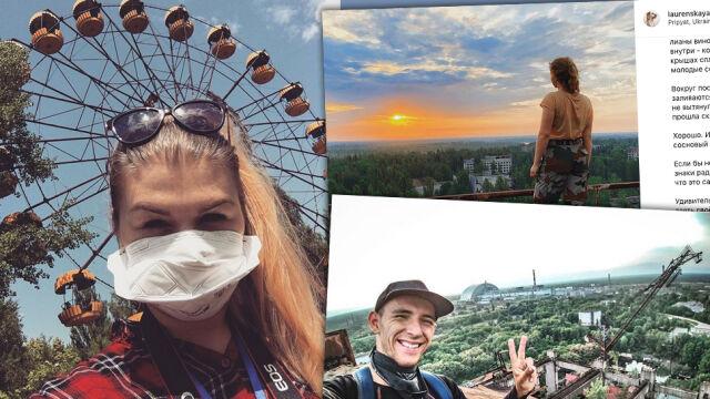 Fajna fotka z Czarnobyla. Nowa moda na Instagramie