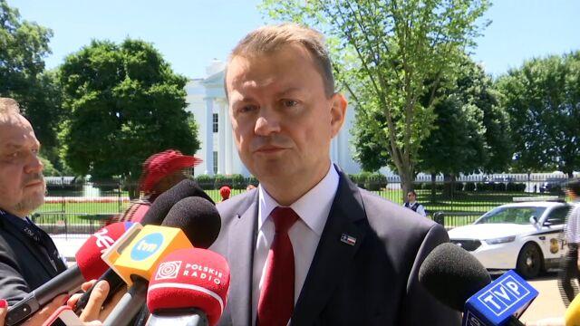 Błaszczak: reakcje państw NATO na porozumienie Polska-USA pozytywne
