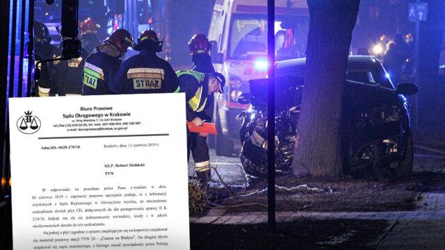 Uszkodzone dowody w procesie po wypadku premier Beaty Szydło