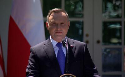 Andrzej Duda o wojskach amerykańskich w Polsce
