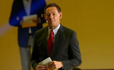 Jim Samples, prezes zarządu TVN na jesiennej ramówce TVN